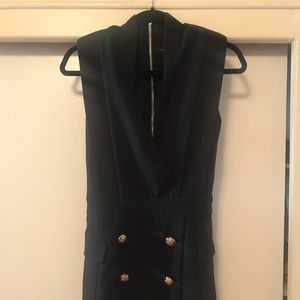 Nasty Gal Black suit Dress